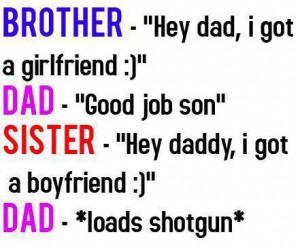 funny #jokes #boyfriend #girlfriend #sister #brother #Dad