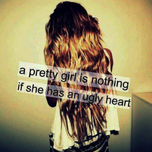 Nothing With An Ugly Heart