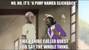 Top Boondocks Quotes #5 (Season 1, Episode 3). Counting down to new ...