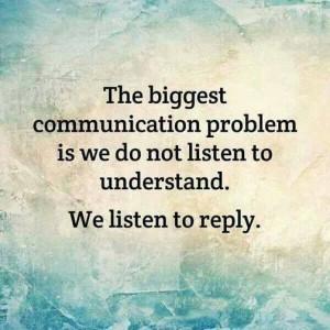 Words fall flat on deaf ears . . .