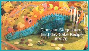 Dinosaur Birthday Cake What