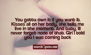 Want Her Back Quotes