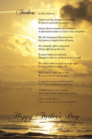 Mother's and Father's Day Poems