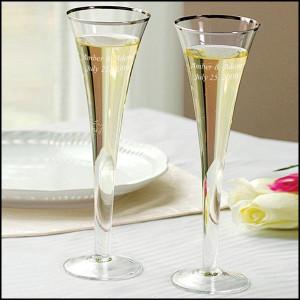 ... week on these Trumpet Wedding Toasting Flutes . Use code FB110711