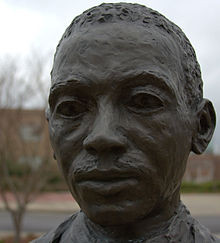 Statue of James Meredith at the University of Mississippi