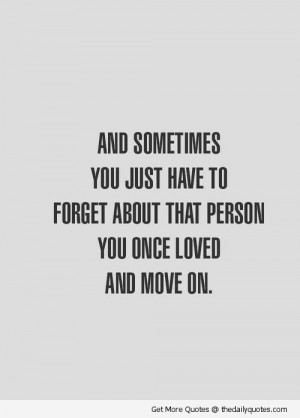 Top Break Up Quotes Moving On