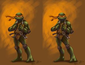 mikey ninja turtle