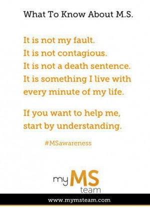 Multiple Sclerosis Quotes