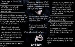 EMINEM favourite emnem lyirc quotes