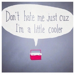 Seriously, don't be hatin'!