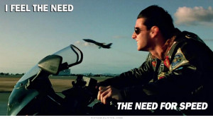 Top Gun Quotes Speed Quotes