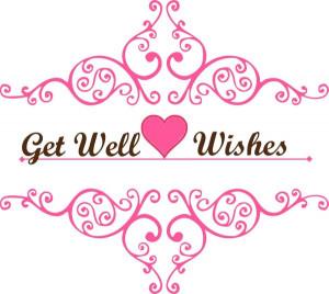 Get Well Soon Sweetheart.
