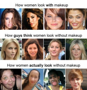 Makeup Quotes Funny