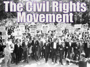 Civil Rights Movement Lesson Plan & PowerPoint