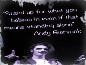 Related Pictures Andy Biersack Quotes Fanpop Clubs Andy