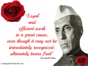 home author j jawaharlal nehru quotes
