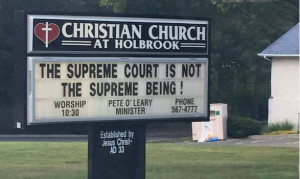 One Mike Huckabee Quote on Gay Marriage Got Posted By a Texas Church ...