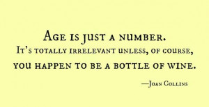 wine quote joan collins