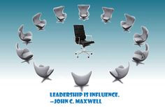Leadership is influence. —John C. Maxwell More