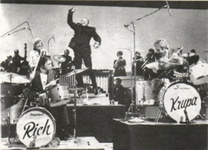 Interview with Buddy Rich and Gene Krupa