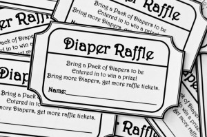 Diaper Raffle Ticket Credited