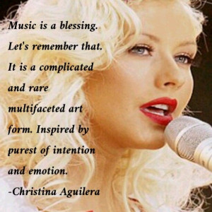Music is a blessing