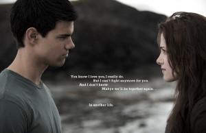 Jacob and Bella Bella & Jacob