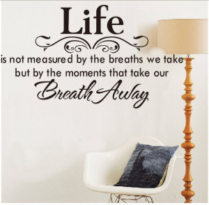 ZooYoo 8048 40*70cm Life Flower Quote /Car Stickers Vinyl Wall Art ...