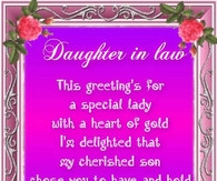 Mother In Law Quotes From Daughter In Law Daughter in law quote