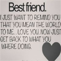 Cute Best Friend Quotes For