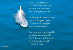 AN ANGEL FEATHER