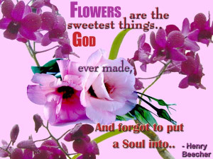 Flowers Image Quotes And Sayings