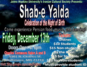 yalda at johns hopkins university baltimore md december 13 2013 johns