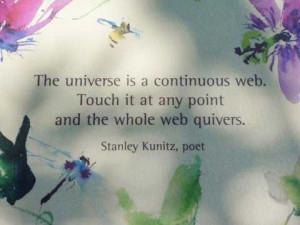 Former US Poet Laureate, Stanley Kunitz
