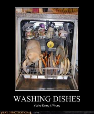 Washing Dishes This Way Saves Water!