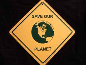 ENLARGE - Save Our Planet Sign - Cute Ecology Environment Earth-Day ...