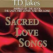 Vol. 1-Sacred Love Songs - T.D. Jakes (1999, CD New)