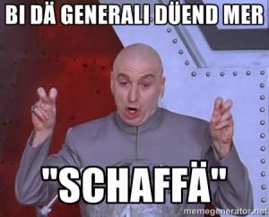 Dr. Evil Air Quotes - Bi dä Generali düend mer