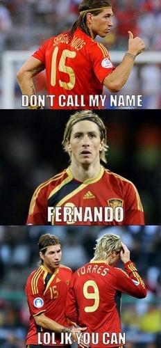 Fernando Torres Funny Nando