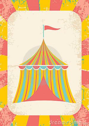 Circus Tent Royalty Free