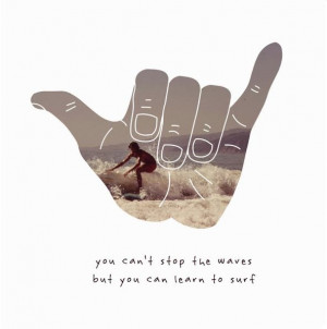 you can t stop the waves but you can learn to surf jon kabat zinn