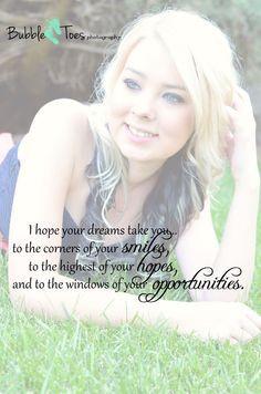 Graduation Quote, Inspirational Quote, Senior photos, class of 2013 ...