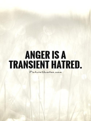 Anger and Hate Quotes