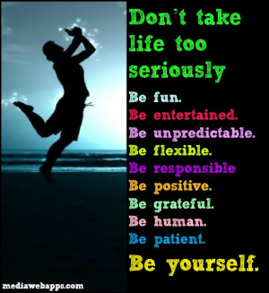 Quotes About Being Yourself Be patient. be yourself.