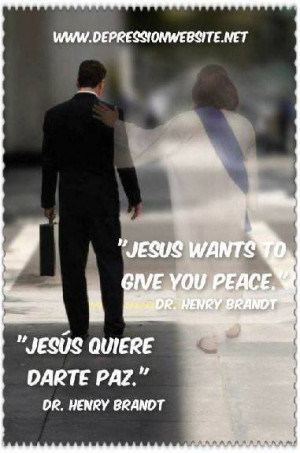 Jesus peace inspirational christian quotes