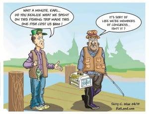 Cartoon Of The Day: Fishing Trip
