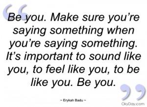 be you erykah badu