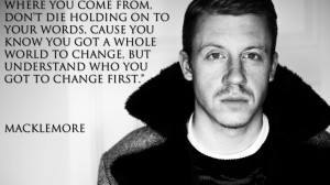 Quotes seattle monochrome rapper macklemore wallpaper