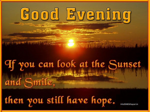 Good Evening SMS, Messages – Good Evening Wishes Quotes English SMS