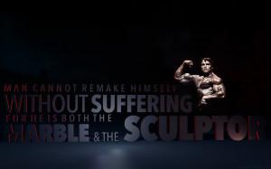 Schwarzenegger Bodybuilding Muscle Physique text quotes wallpaper